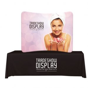 Table Top Banner Display Example
