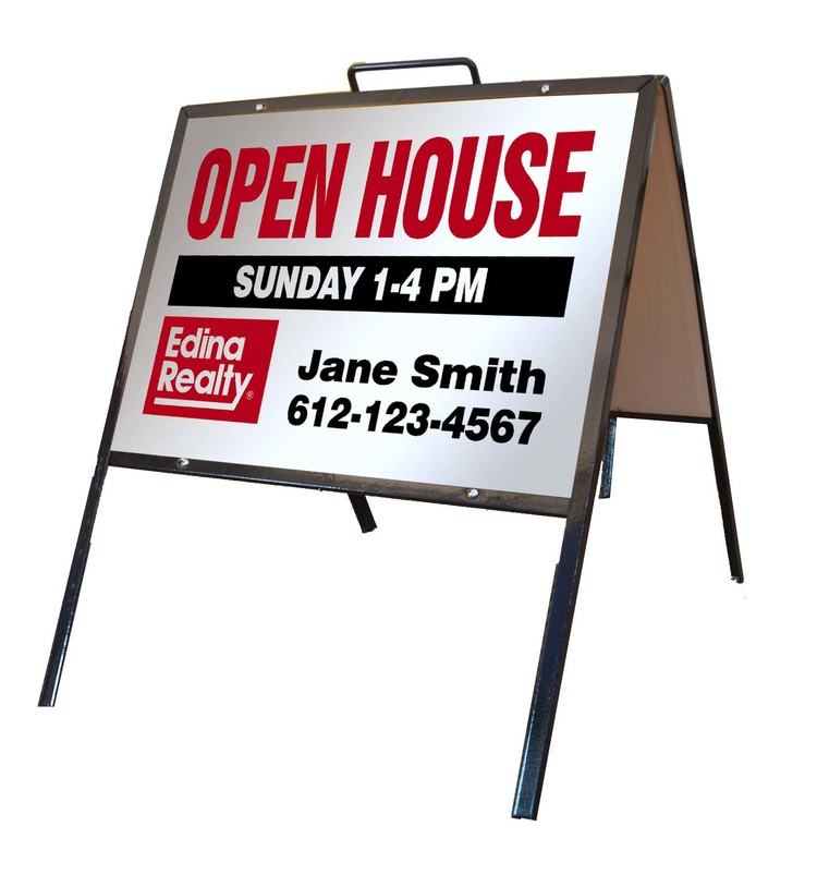 A Frame Open House Signs Minneapolis | Banners To Go