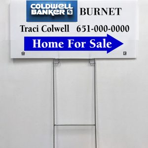 Real Estate Directional Sign - Example