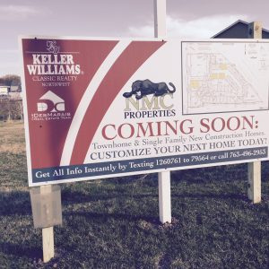 Minneapolis Real Estate Development Signs