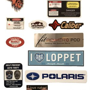 Sticker Printing Minneapolis Examples