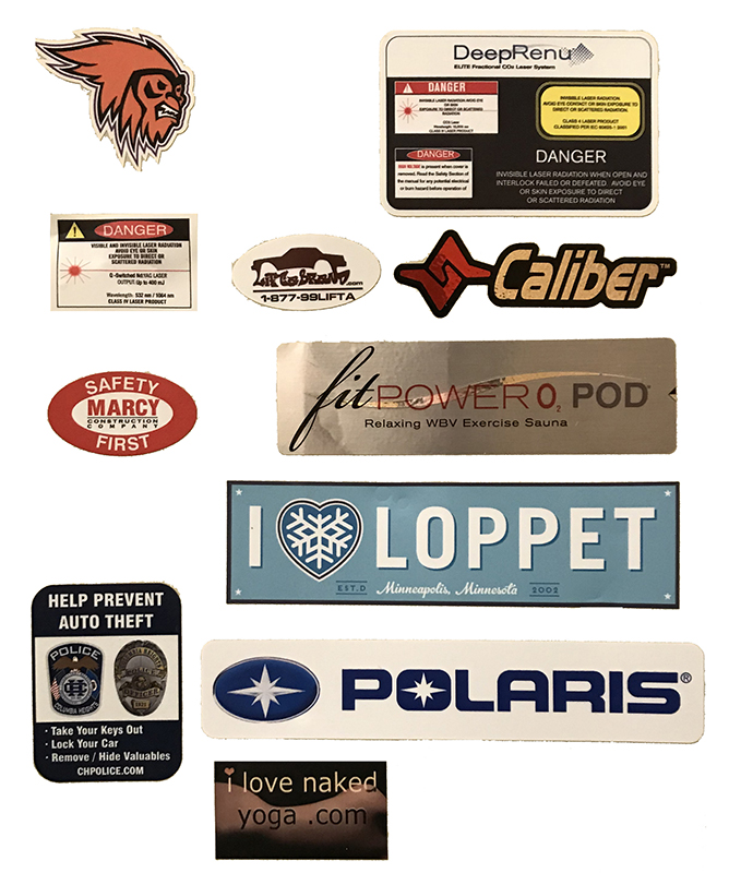 graphic about Printable Vinyl Labels known as Vinyl Sticker Printing Minneapolis Banners Towards Transfer