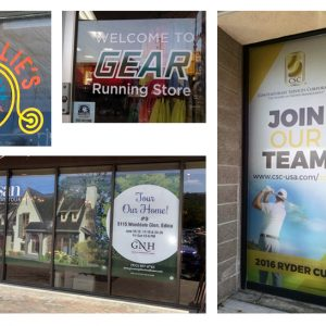 Business Window Graphics Examples