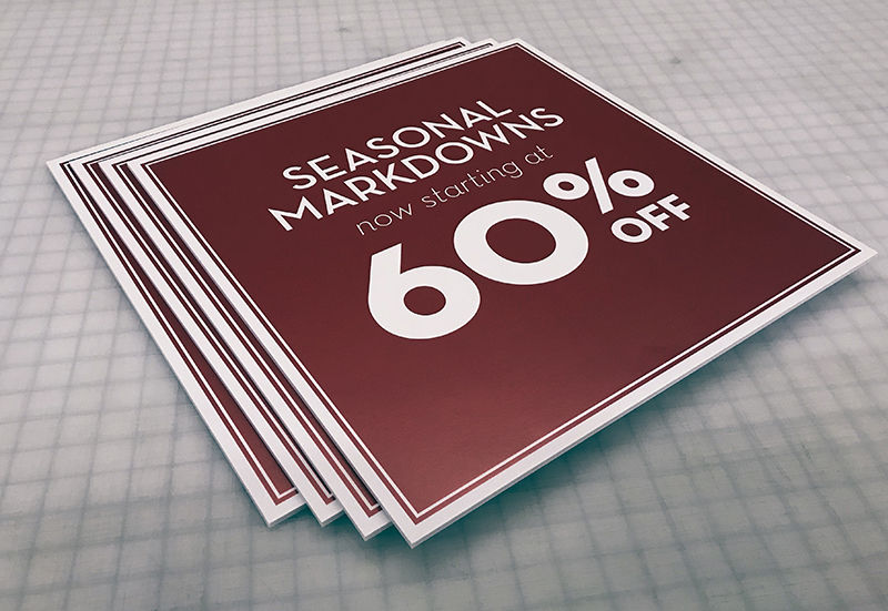 Foamcor Sign Printing Minneapolis, MN | Banners To Go