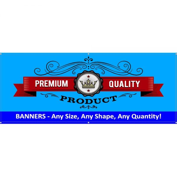 Custom Outdoor Vinyl Banners Example
