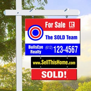 Hanging Real Estate Signs Minneapolis