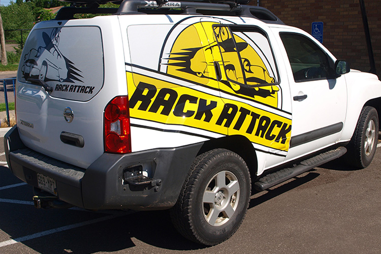 Vehicle Wraps and Graphics - Rack Attack