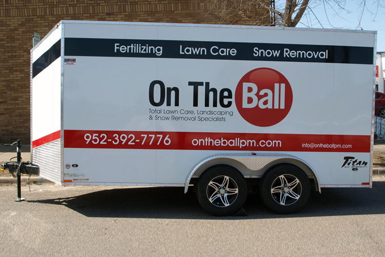 Trailer Wraps - On The Ball